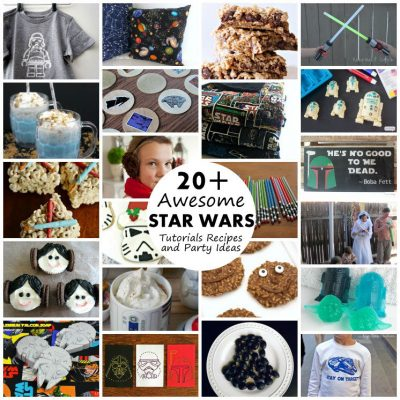 Star Wars Inspired Crafts, Recipes and Party Ideas and Block Party
