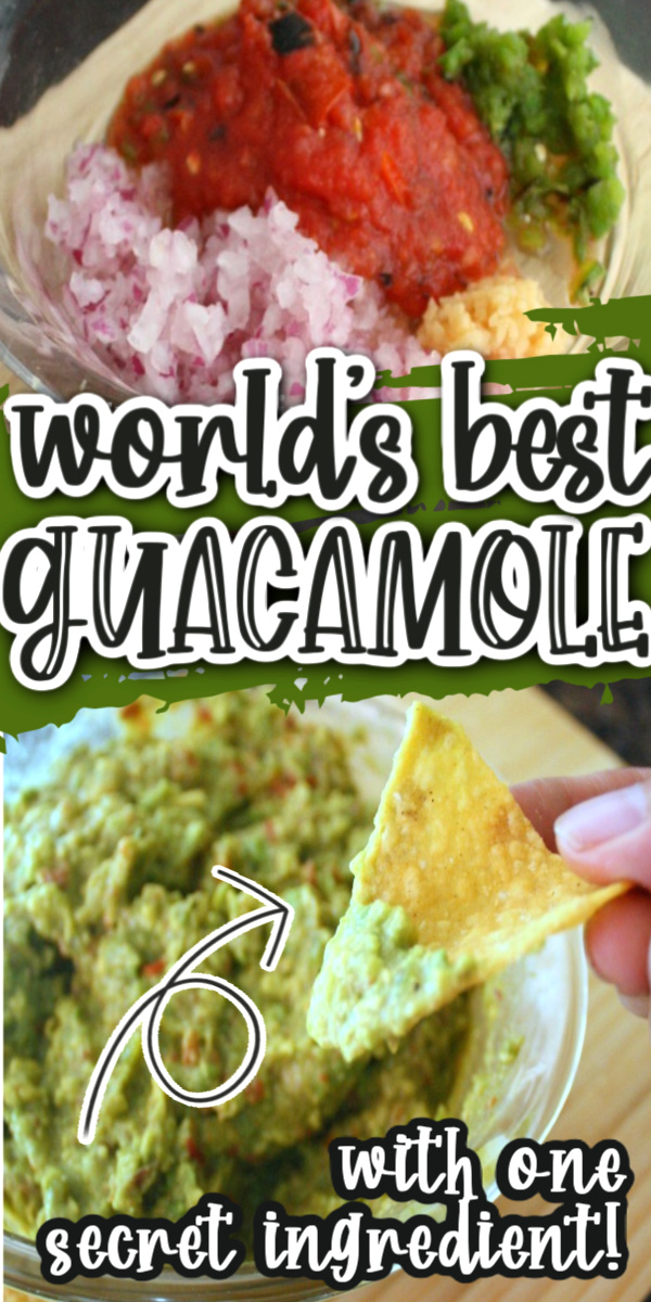 I won't make any other guacamole recipe. This is the best. Simple but the small tricks and tips take it over the top.