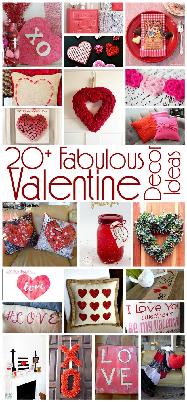 Awesome DIY Valentineu0027s Day Decor Ideas