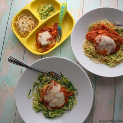 10 Tips for Meal Planning Success + Parmesan Zoodles Recipe