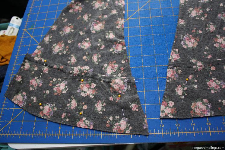 Floral Cardigan handmade