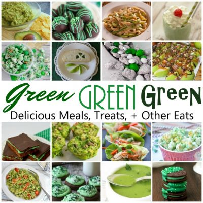 16 Delicious GREEN Recipes and Block Party