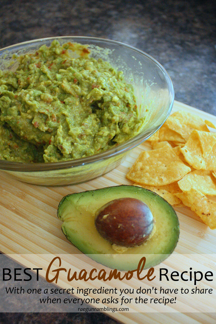 This guacamole recipe is so good I've made it the last 3 weekends! Perfect party food or game day dip.