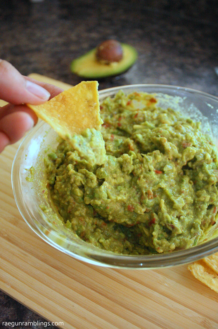 This guacamole recipes is so delicious and easy. i get asked for the recipe every time I make it.