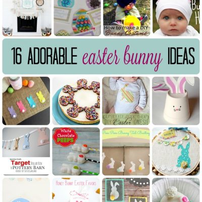 16 Adorable Easter Bunny Ideas and Block Party