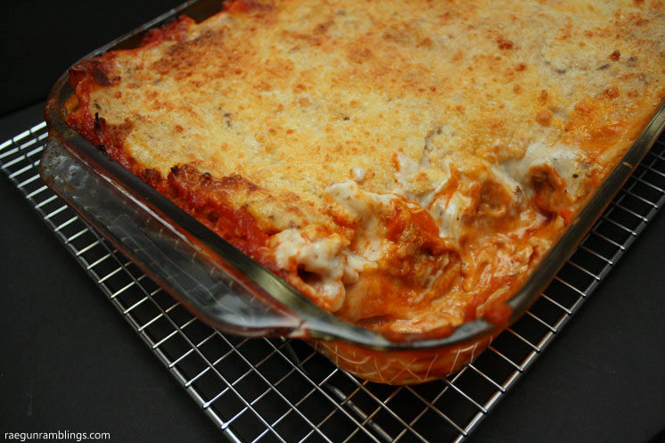 Wow this is amazing. Made this meat lasagna recipe twice now. Great family dinner and freezes well too