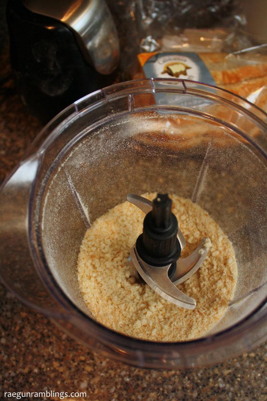 How to make panko bread crumbs. Great homemade breadcrumb recipe