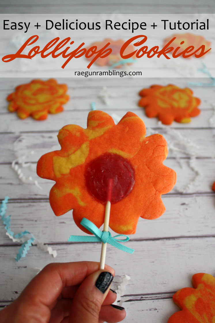 Made these this weekend. So easy and the sugar cookie recipe is DELICIOUS. Easy flower cookie pops