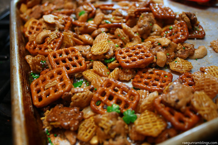 Super delicious chex mix recipe - raegunramblings.com
