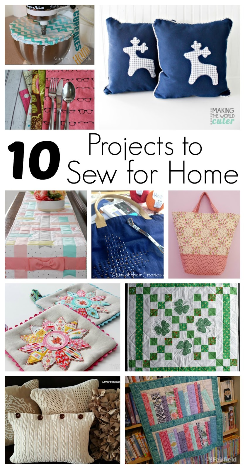 10 Must Make Diy Home Decor Projects Great Easy Things To Sew For