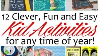 10 Fun and Easy Kid Activities and Block Party