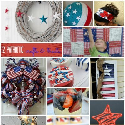 12 Patriotic Crafts and Recipes and Block Party