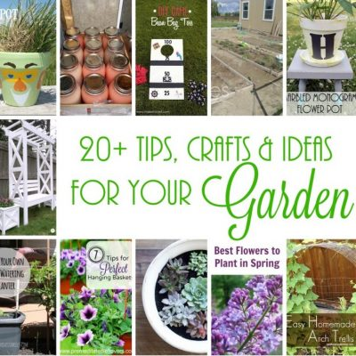 20+ Awesome Ideas, Crafts and Tips for Your Garden and Block Party