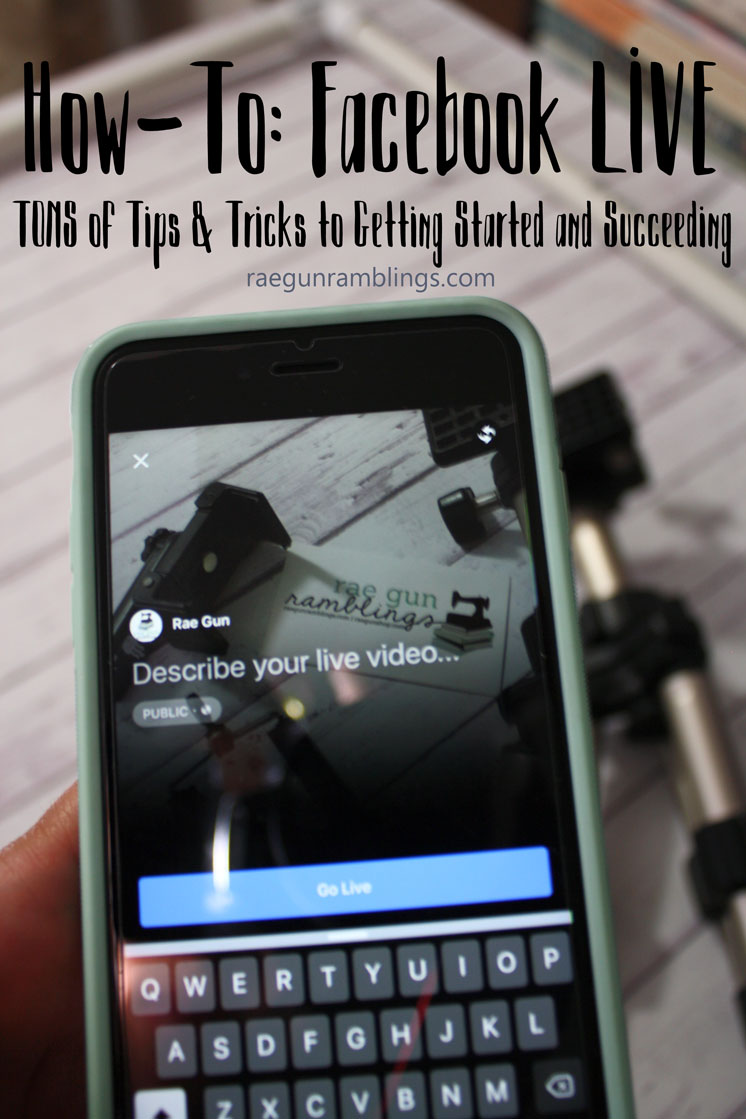 Great post for bloggers. Why and how to use Facebook live. Tons of tricks and tips and step by step instructions.