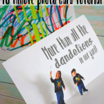 Love this cute sassy Father's Day card idea. DIY pop up card tutorial.