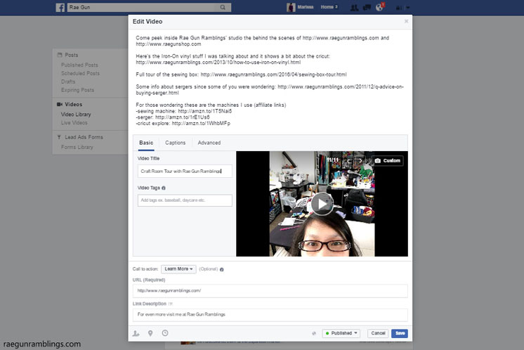 What to do AFTER you go live on facebook and tons of tips for bloggers and Facebook live