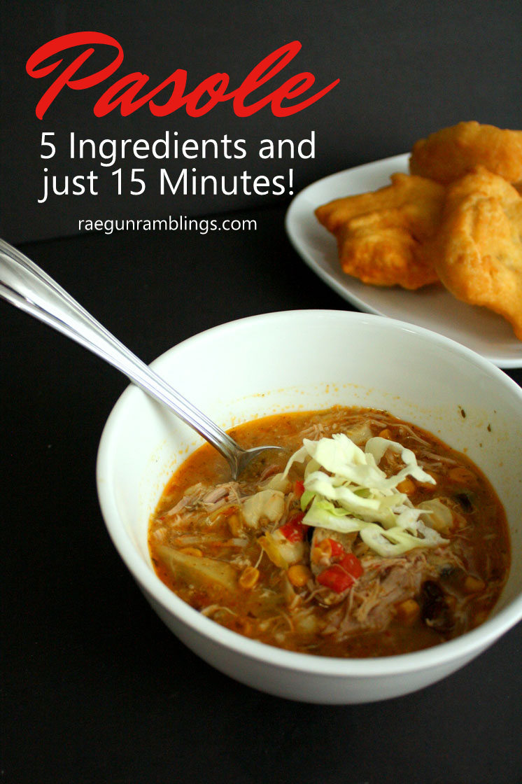 It's a keeper made this 15 minute pasole recipe last night for dinner and the whole family loved it. SO easy and just 5 ingredients.