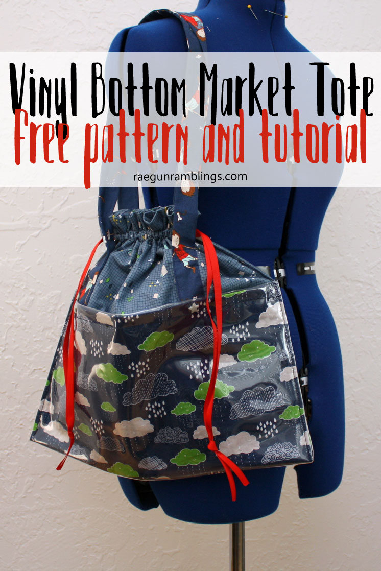 My new favorite diy bag. Great free sewing pattern and easy tote bag tutorial