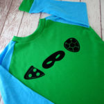 step by step instructions for a DIY TMNT shirt