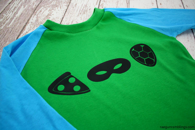 how to make a TMNT shirt. Cute icon DIY teenage mutant ninja turtles tutorial