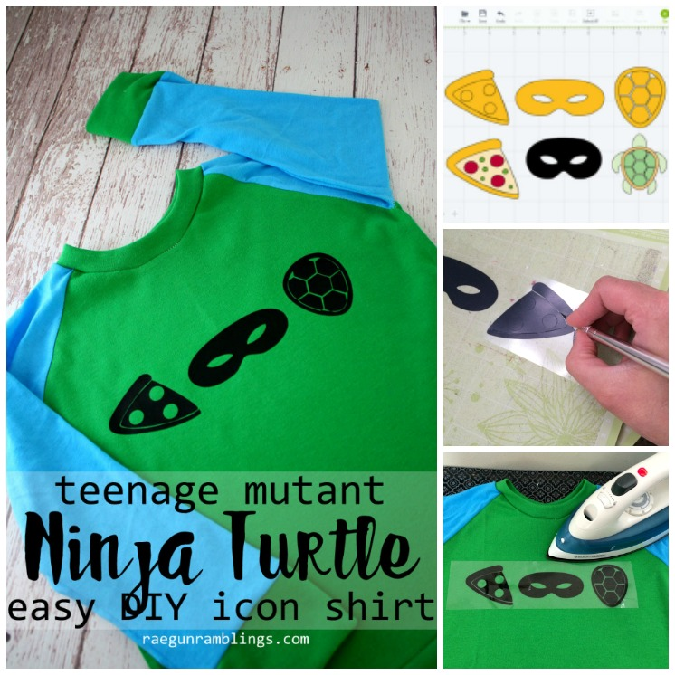 Fast and easy DIY teenage mutant ninja turtle tutorial. Cute gift idea for TMNT fans.