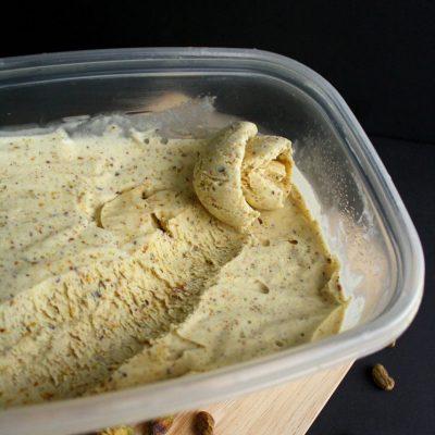Homemade Pistachio Ice Cream Recipe