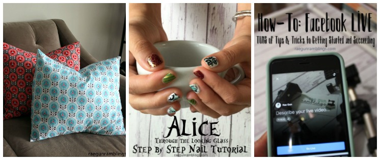 Learn all about Facebook Live, nail stamping, sewing pillowcases and strawberry recipes