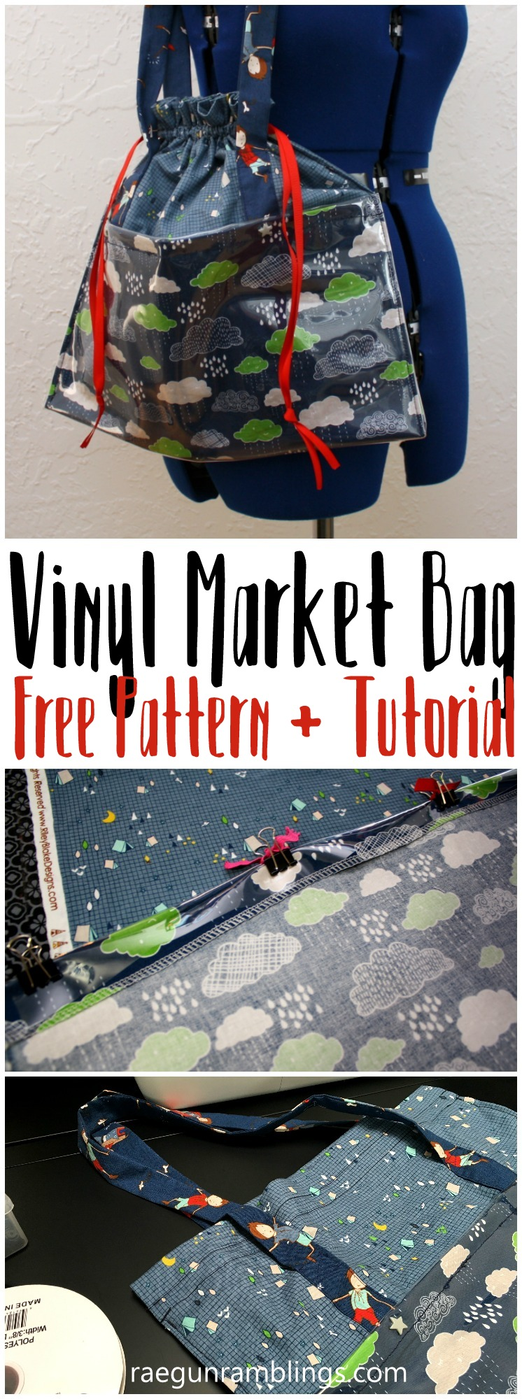 Just made this and love it! This DIY tote bag has everything. Free pattern and tutorial