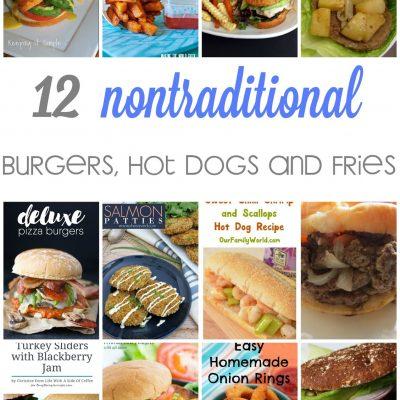 Creative Hamburger Recipes and Block Party