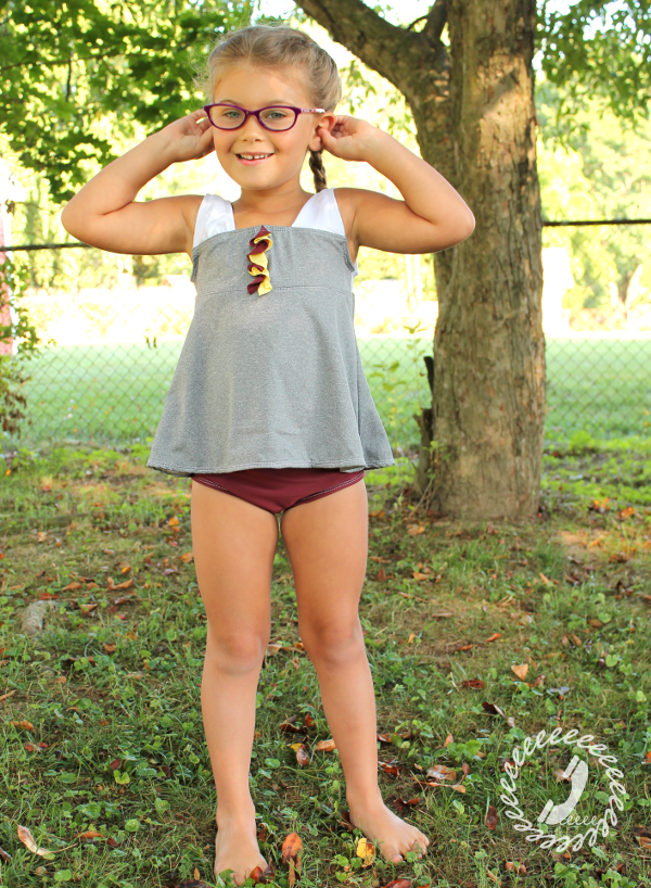 Call Ajaire Happy Harry Potter Tankini Sewing project