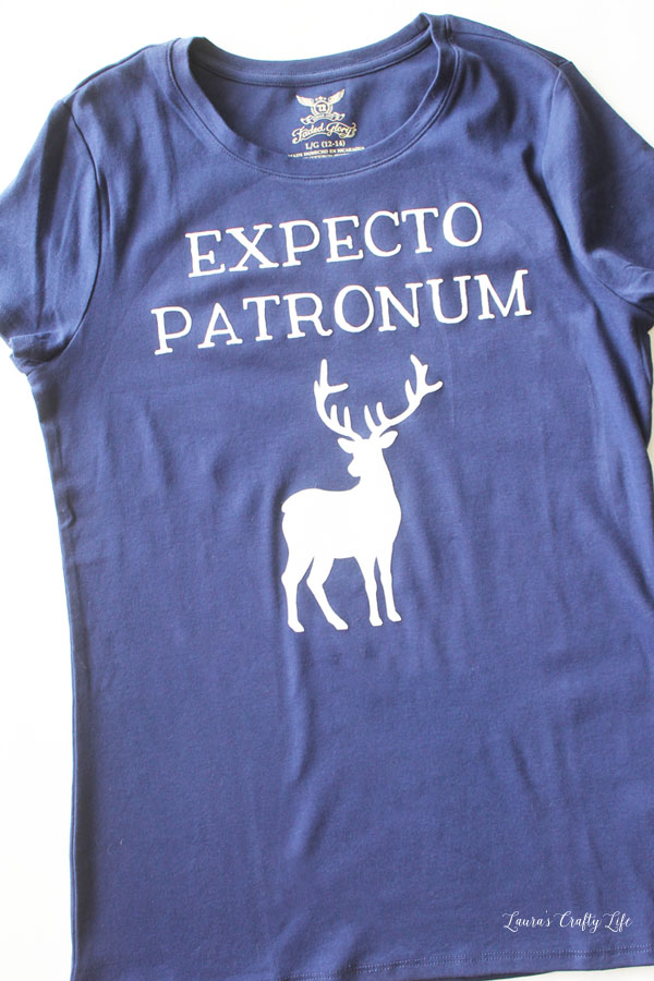 Expecto Patronum Shirt tutorial and more harry Potter crafts and recipes