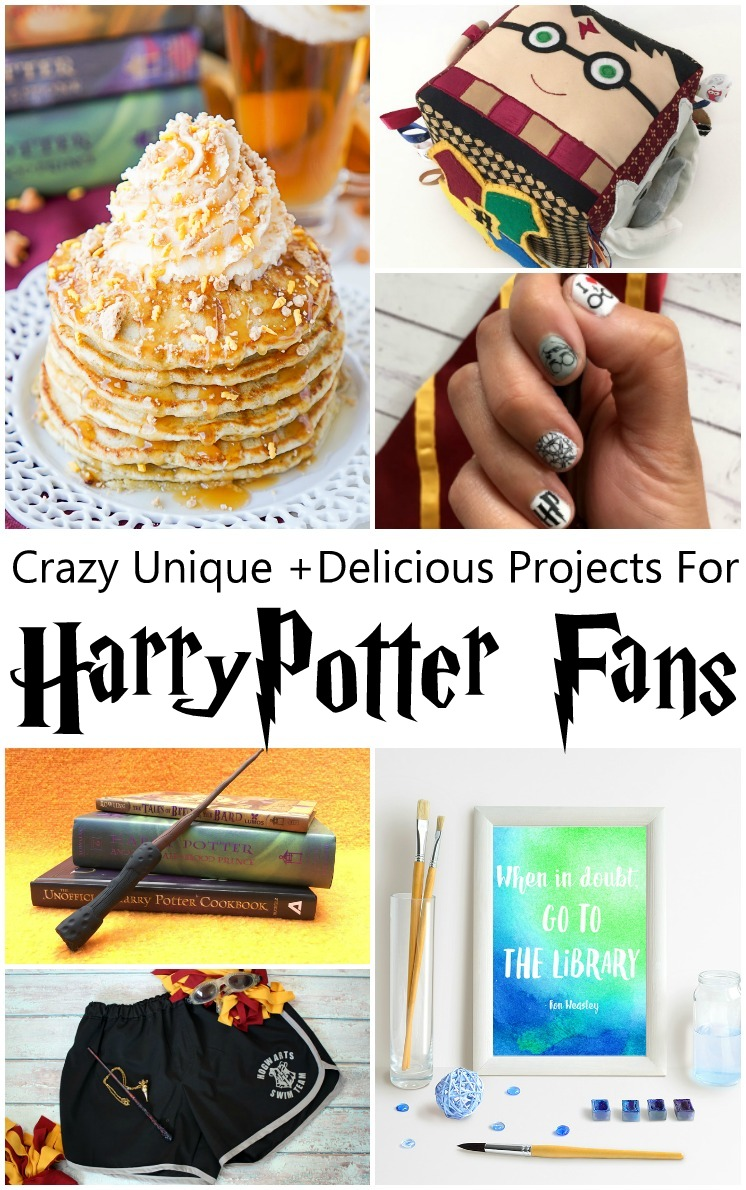 Harry Potter pancakes, baby activity cube pattern and other awesome creative Harry Potter tutorials