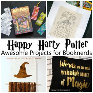 Love these Harry Potter DIY projects