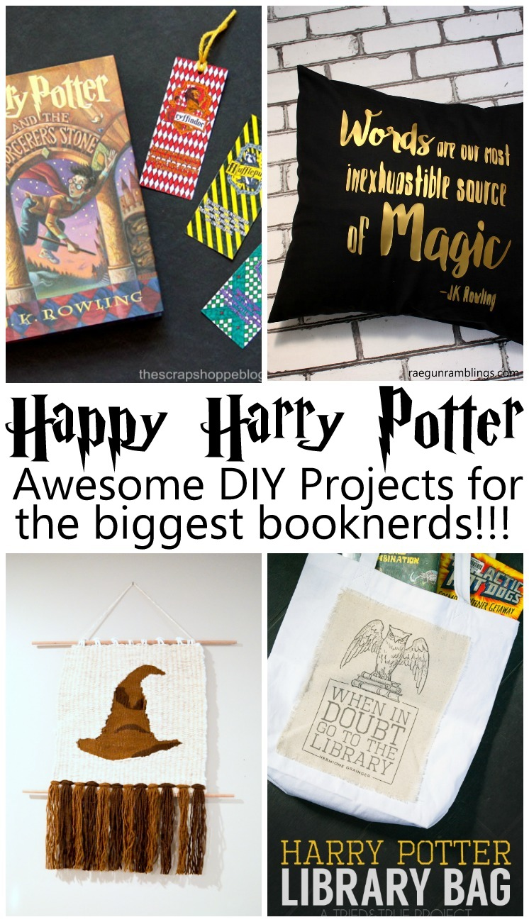 Fabulous DIY projects and tutorials For Harry Potter fans and booknerds