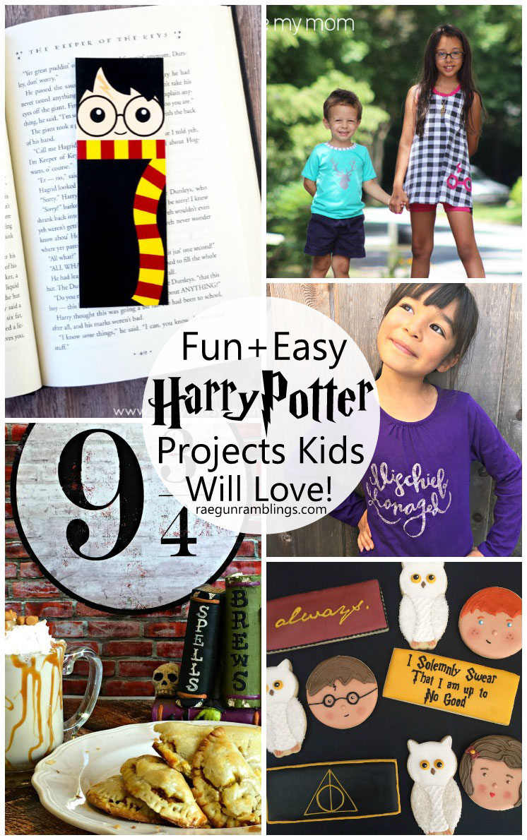 I want to make all these crafts and recipes inspired by Harry Potter. Free tutorials, patterns and printables.