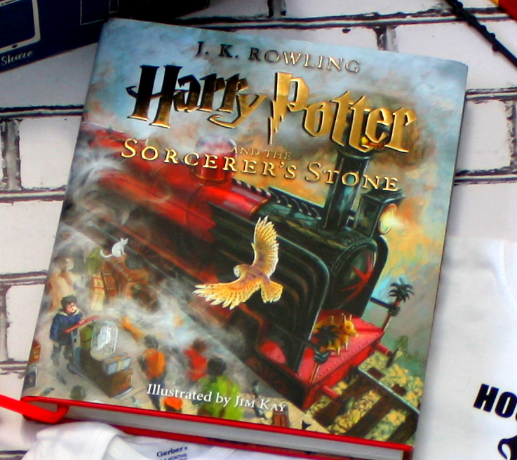Love the illustrated edition of the Harry Potter books!