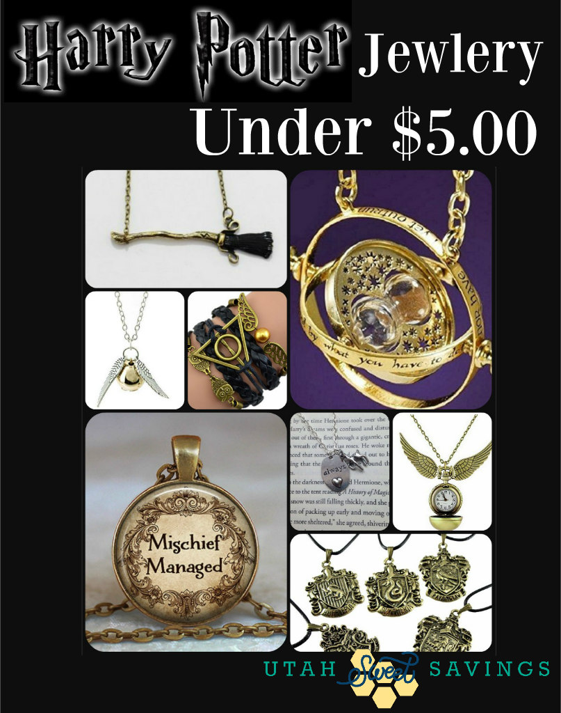 Harry Potter Jewelry Under 5 so many cute options