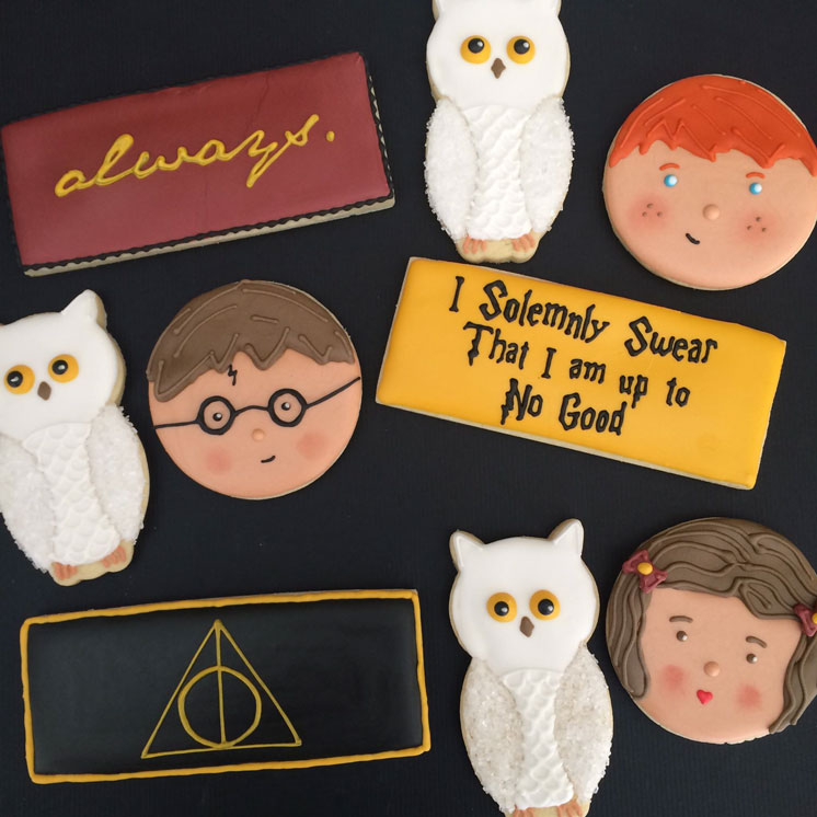 Sweet Jenny Belle's Harry Potter Cookies