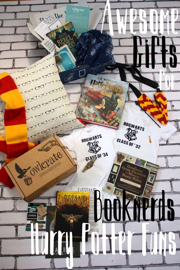 The ultimate list of Harry Potter gifts. Perfect for any book lover.