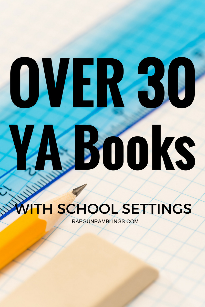 Back to school books for fun! Over 30 young adult novels that take place in schools. Run reading list.