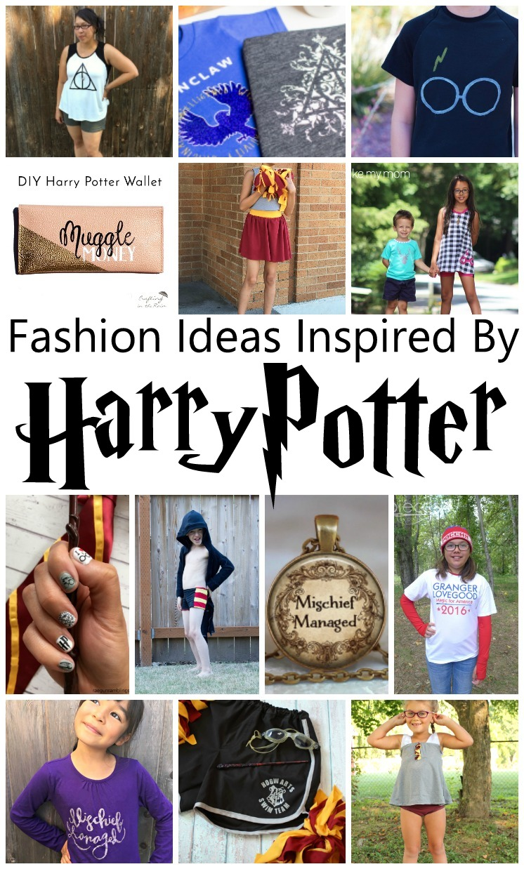 Love them all. Great Harry Potter fashion ideas. ANd tons of DIY tutorials and sewing patterns.
