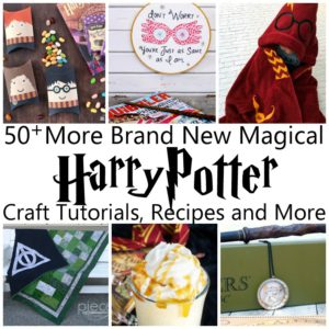 Lots of really creative and unique Harry Potter crafts, tutorials, recipes, projects and even book lists. SO many awesome projects