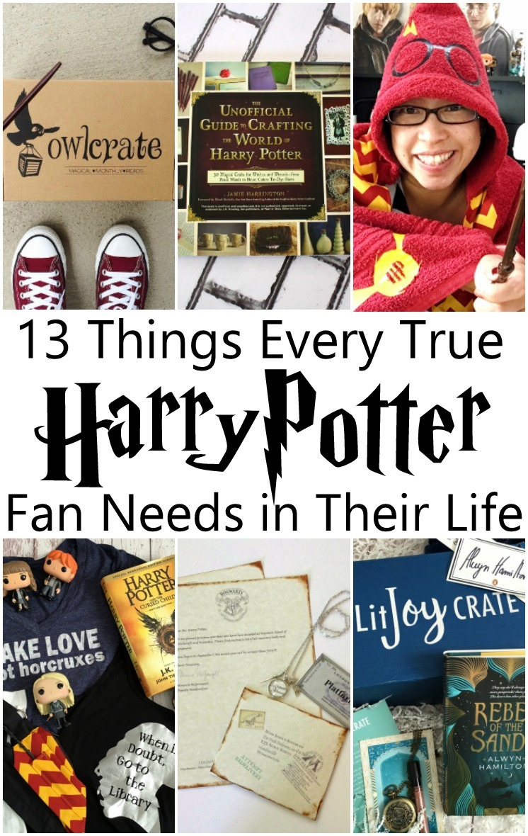 great harry potter gift guide full of things every harry potter fan needs super unique