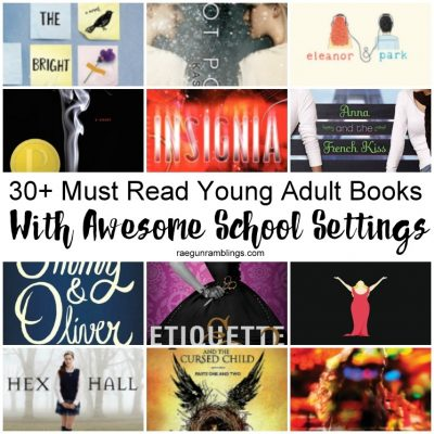 Over 30 Young Adult Books Set in School