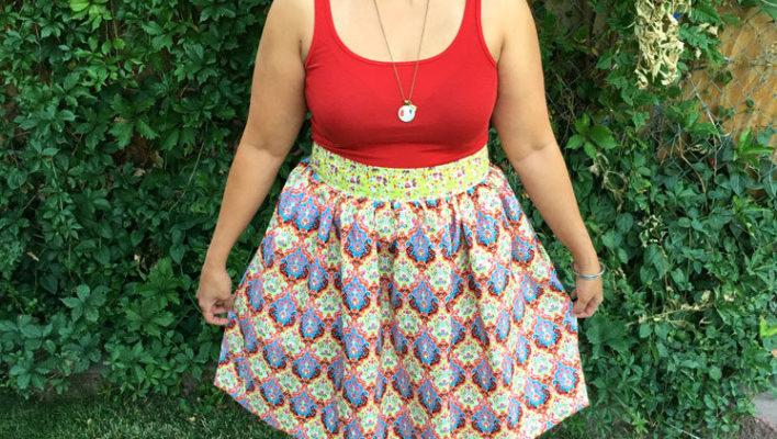 60 Minute No-Fuss Apron Skirt Tutorial