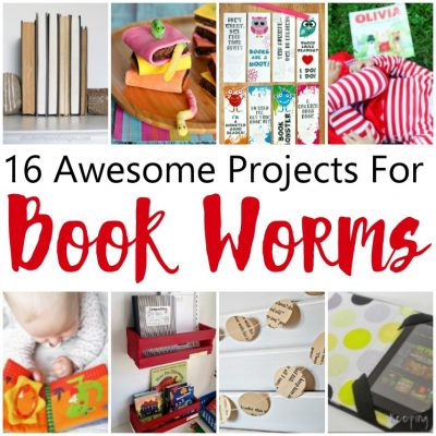 Book Worm Crafts, Reading Lists and More and Block Party