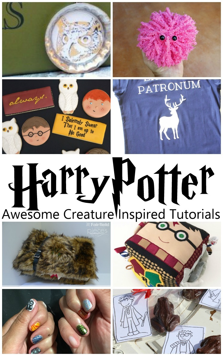Can't wait for Fantastic Beasts and Wear to Find them. THese Harry Potter creature inspired tutorials are perfect