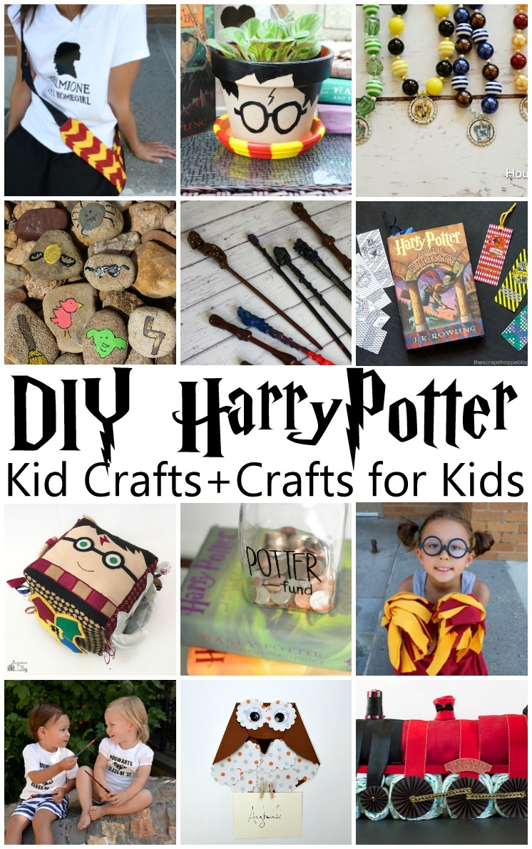 I want to make all of these kid crafts and crafts for kids. Fabulous Harry Potter tutorials and activities.
