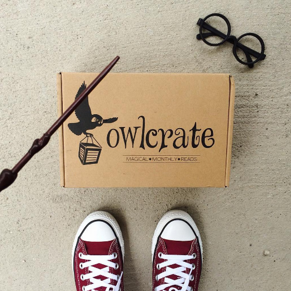 Owlcrate monthly Young Adult fiction book subscription box
