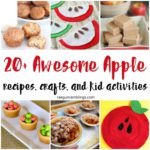 Tons of great Apple crafts, recipes, and kid activiites